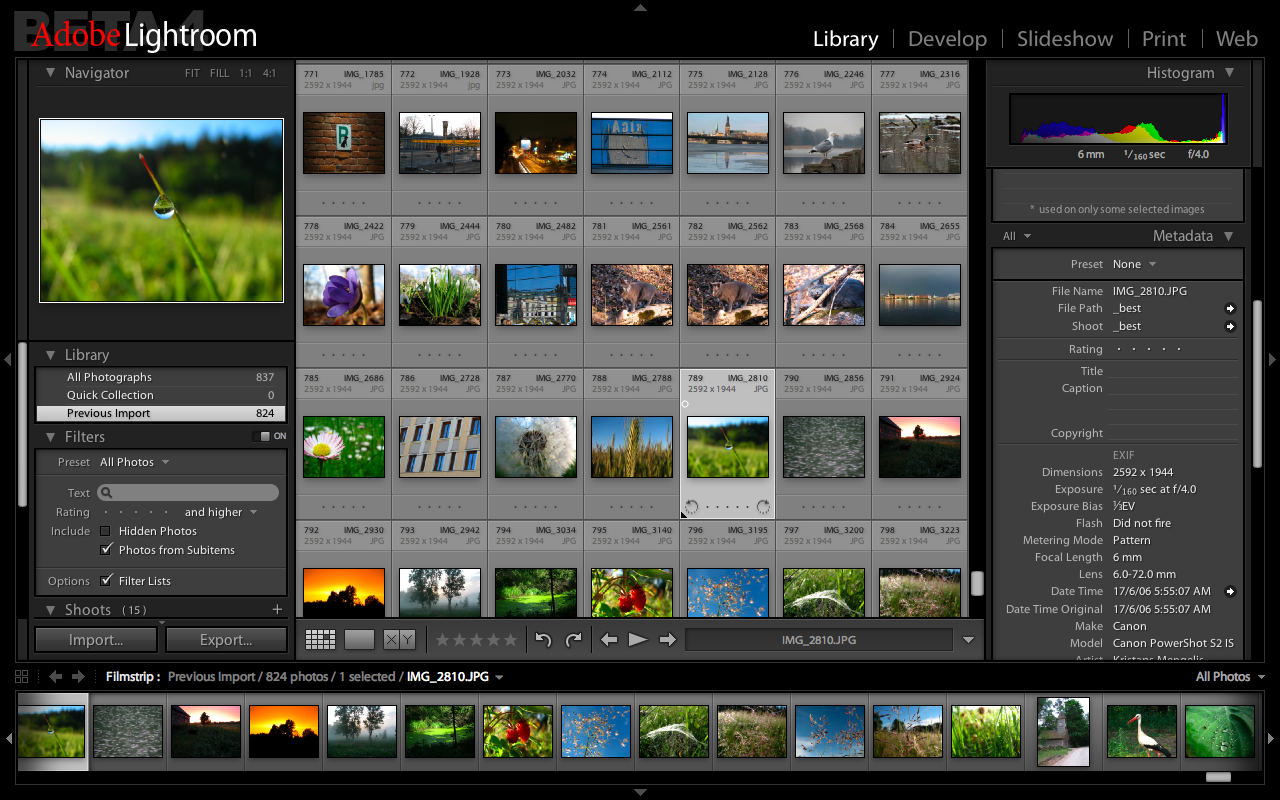 Adobe Photoshop Lightroom 4 software provides a comprehensive set of.